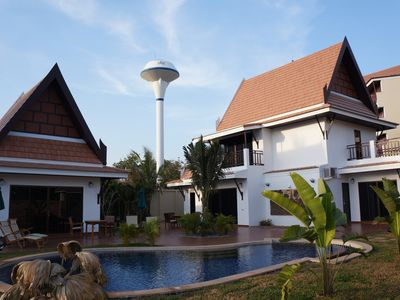 Large And Well Appointed Villa And Pool On Ban Phe Beach For Groups Up To 8