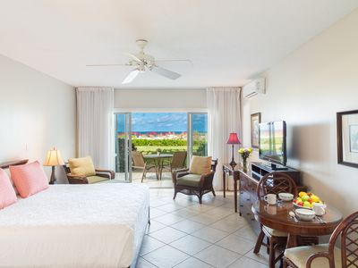 Photo for ROYAL WEST INDIES, GRACE BAY, BEACHFRONT, 1ST FLOOR