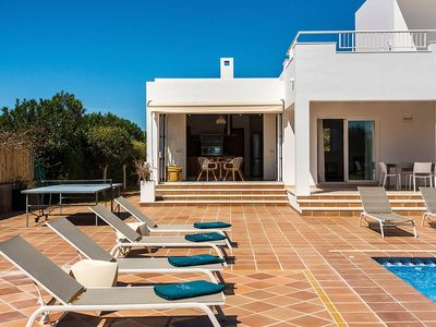 Photo for Villa Jamila - Beautiful, Newly Built Villa with A/C and Private Pool at only a few Kilometers from Ibiza Town ! - Free WiFi