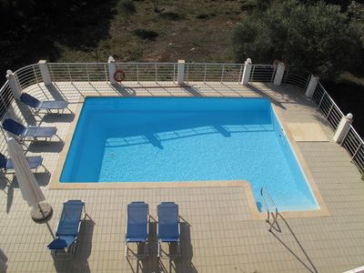 Photo for VILLA IN FISKARDO WITH ABSOLUT PRIVACY AND WALK DISTANCE TO THE BEACH AND PORT