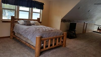 Photo for Come stay at the Ranch. Semi-Private Loft area just 10min. from Whitefish MT.