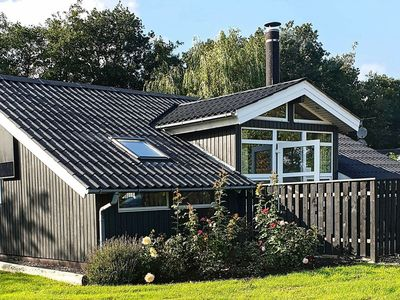 Photo for Cosy Holiday Home in Hemmet with terrace on lush green plot
