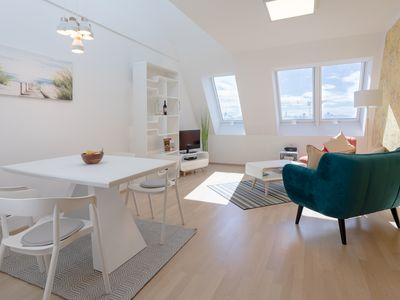 Photo for Karlskirche View Duplex Apartment close to State Opera and Metro Line #10of10