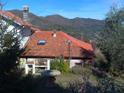 Photo for Stylishly renovated stone house with garden and. Terrace 15 minutes from the beach