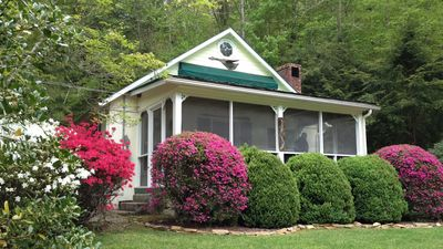 Photo for River Bend Cottage along Big Laurel River minutes from Hot Springs NC