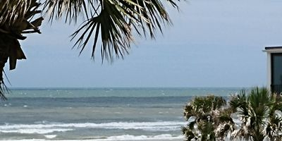 Photo for 3bd/2ba Condo with Ocean View and Community Pool. Steps from Sand!