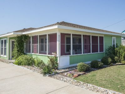 Photo for Pet friendly, cozy family cottage walking distance to the beach! - 097