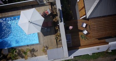 """Photo for Bed and Breakfast """"Ô Soleil"""" with swimming pool, to 80 m of Trou d'eau"""