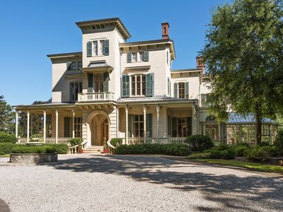 Photo for Astonishing 1852 Italianate Villa Nuits estate.  30 minutes from midtown NYC.