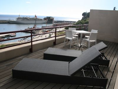 Photo for Spectacular Apartment in front of Funchal´s Sea port