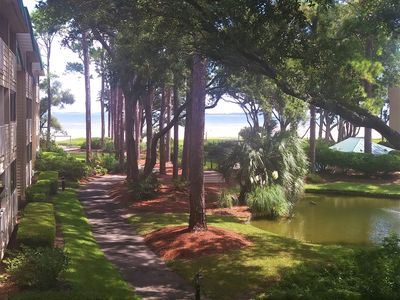Photo for Amazing Ocean Views! Steps to Beach. Great Amenities.WiFi.Dining