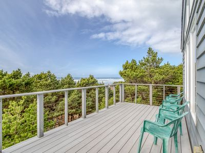 Photo for Light and Bright Oceanfront Home with Beach Access Just Steps Away! Pets Welcome