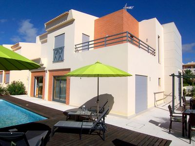 Photo for New Luxury Detached 4 Bed Villa-Full/Equipped-Sleeps 8, Own Garden/Heated Pool