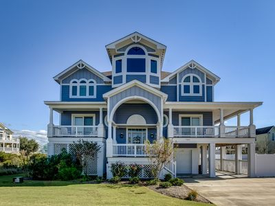 Photo for Sweet Home Carolina | Private Pool, Hot Tub | 1750 ft from the beach | Corolla