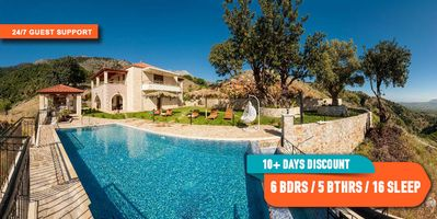 Photo for Totally private Luxurious Villa with pool located in a pictruresque place