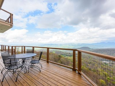 Photo for Luxury Mtn Home w/ Views, 3 King Suites, Walk to Ski Beech, Game Tables, Beech Mtn Club Access