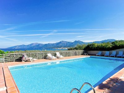 Photo for Saint-Florent Apartment, Sleeps 4 with Pool and WiFi