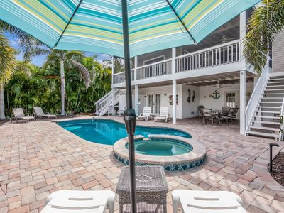 Photo for All Conched Out: Huge Canal Home, Heated Pool, North End, Bay View from Balcony