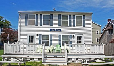 Photo for Renovated, Beach House 3BR , Sleeps 7.  Less than 2 min walk and your on beach!