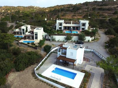 Photo for Modern villa, with private pool and magnificent view!