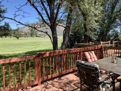 Photo for Solo's Retreat - on the 9th Fairway of golf course and Stunning Mountain views
