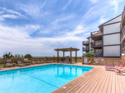 Photo for Oceanfront with pool access, Sea Colony 22B has everything you need to make great memories!  New ...