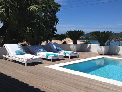 Photo for Buz027 -  Beautiful house with 5 suites and pool in Búzios