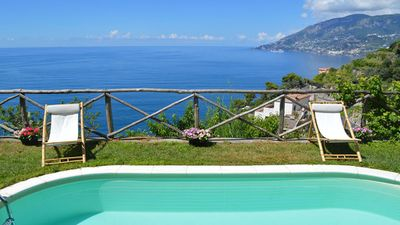 Photo for VILLA MAJOR - HOLIDAY VILLA - MAIORI - AMALFI COAST