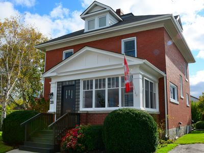 Photo for Century old 4 bedroom red brick home located in the Prettiest Town in Canada