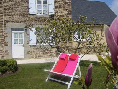 Photo for Charming & quiet for two in the countryside near Mont St Michel
