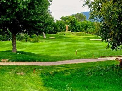 Enjoy the 3rd Fairway just outside the back garden!