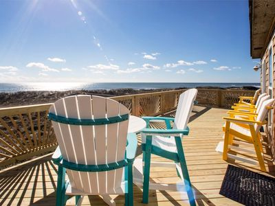Photo for Dolphin Watch - Gorgeous 4 Bedroom Oceanfront Home in Frisco