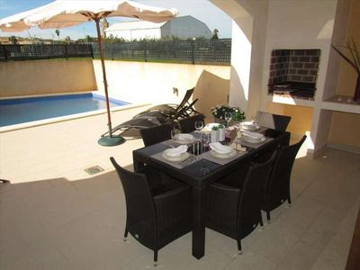 Photo for LLULL- House with pool in Son Carrió. 6 people, 3 rooms. Satellite TV. Majorca- 73496- - Free Wifi