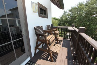 Balcony Off Living Room - Enjoy Gulf Breezes