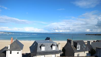 Photo for HOLIDAY HOLIDAY SEA VIEW !!! Great Beach SAINT CAST ST MALO DINARD BRETAGNE
