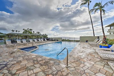Escape to Kihei and stay at this 1-bedroom, 1-bathroom vacation rental condo.