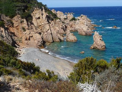 Photo for Outstanding Sea Views From Family Apartment Set In Wild Sardinia