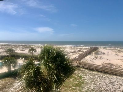 Photo for A VIEW WITH A ROOM! Direct beachfront condo,amazing views,Gulf Shores Plantation