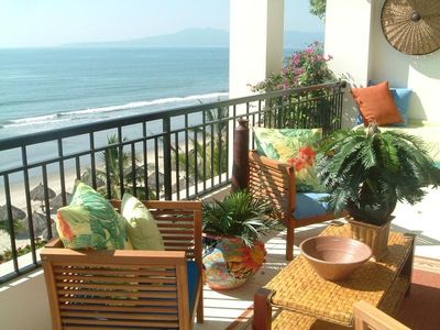 Photo for Beautiful Beach Oceanfrt Condo, Playa Royale, Paradise Village