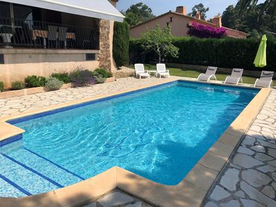 Photo for House Villa with private pool, near beach and trade