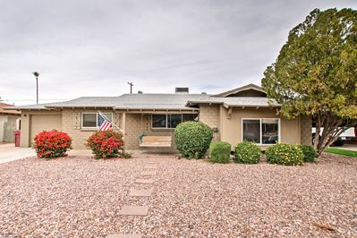 Old Town Scottsdale is just 2 miles away from this 3-bed, 2-bath home.
