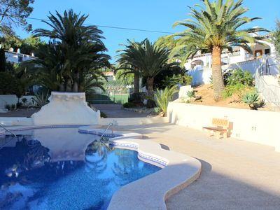 Photo for Bungalow with Communal Pool & Tennis Courts in Moraira