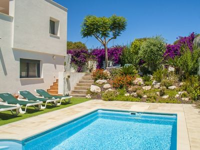 Photo for Club Villamar - Modern semi-detached villa with a private pool and a magnificent sea view