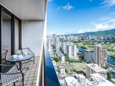 Photo for Tropical Retreat, 1BR Condo with Panoramic Mountain Views and Full Kitchen