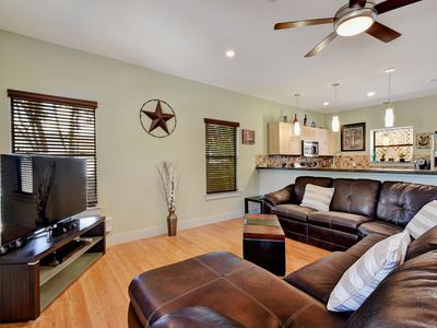 Photo for Modern 3BR in East Austin w/ Attractive Front Deck Dining Area