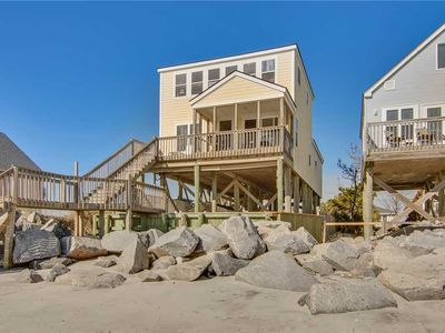 Photo for Oceanfront Home with Spectacular Views of the Ocean and Washout