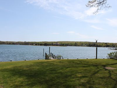 Photo for Relax, Restore, Renew: Private Waterfront Rental, Upper Sag Harbor Cove
