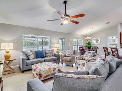 Photo for Newly Remodeled, SW Cape Coral Retreat, Private Solar Heated Pool, Free Parking & Wi-Fi