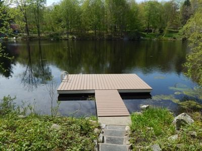 Photo for Light, Bright, Modern Lakefront Home - A stone's throw from waters edge!