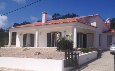 Photo for Fabulous location with sea views. Modern, secluded, family friendly villa.